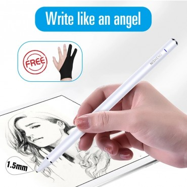 1.5mm Active Stylus Touch Pen For Apple iPad Pro Smart Capacitive Screen Pencil For IOS iPhone Android Microsoft Surface Tablet