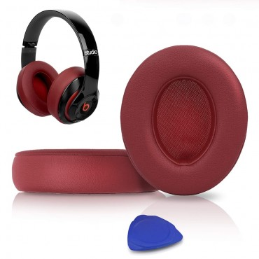 1Pair Replacement Ear Pads Cushions Kit Memory Foam Earpads Cover for Beats Studio 2.0 3.0 Wired Wireless B0500 B0501 Headphones
