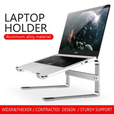 Aluminum Laptop Stand Notebook Riser Holder For Macbook Air iPad Pro Dell HP Lenovo Xiaomi Computer Tablet Support Accessories
