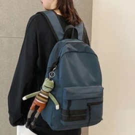 Dcimor 2020 new products unisex backpack Korean casual The large capacity School bags for students Pure color Women's travel bag