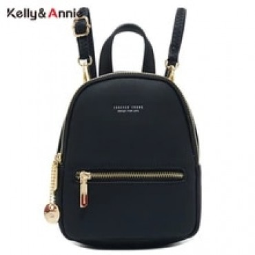 Forever Young Designer Women Backpack Mini Soft Touch Leather Small Backpack Female Fashion Ladies Bagpack Satchel Shoulder Bag