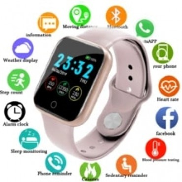 i5 Blood oxygen Monitor Smat Watch Android ios Call Reminder Heart Rate Blood Pressrue Monitor Fitness Tracker Waterproof Smart